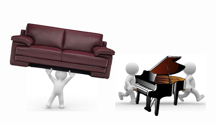 Пренос на Пиана и Тежки Предмети