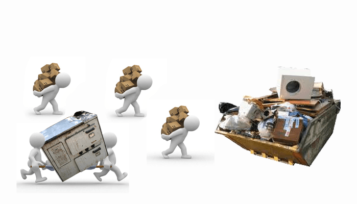 Изнасяне и Изхвърляне на Стари Мебели, хамалска услуга почистване от стари вещи